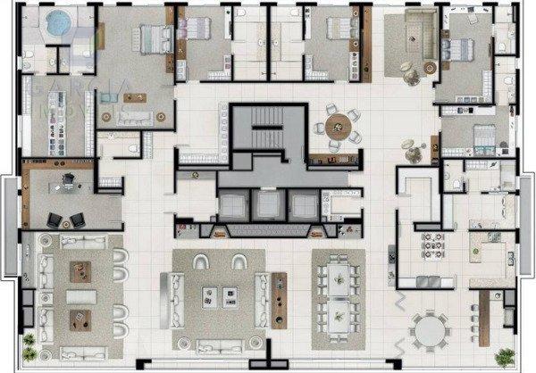 Reserva Casa Rosa - Apartamento 03 Dorm.