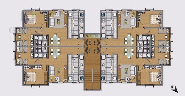 Leonardo Da Vinci - Apartamento 02 Dorm.