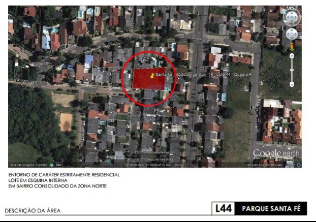 Terreno Parque Santa Fé Porto Alegre
